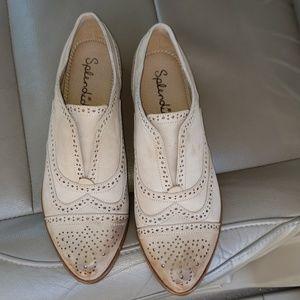 Splendid Toby Cap Toe Leather Size 8.5